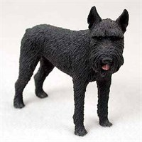 Schnauzer Figurine Giant Black