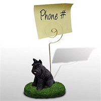 Schnauzer Note Holder