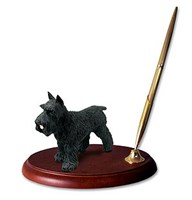 Schnauzer Pen Holder