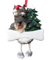 Schnauzer Ornament (Cropped)