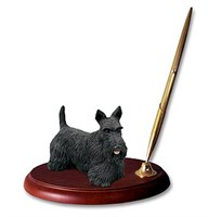 Scottish Terrier ?á Pen Holder