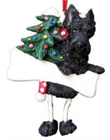 Scottish Terrier Christmas Ornament Tree Personalized