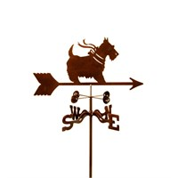 Scottish Terrier Weathervane with Bow