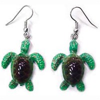 Sea Turtle Earrings True to Life