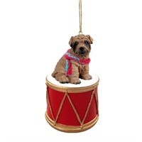 Shar Pei Little Drummer Christmas Ornament