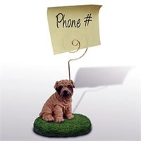 Shar Pei Note Holder (Brown)