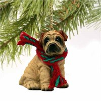 Shar Pei Christmas Ornament Cream