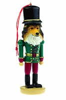 sheltie christmas ornament 14544 Sheltie Ornament Nutcracker