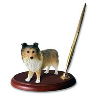 Shetland Sheepdog Pen Holder