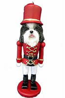 Shih Tzu Christmas Ornament Nutcracker