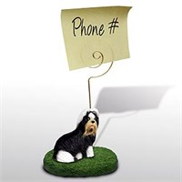Shih Tzu Note Holder (Black & White)