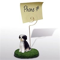Shih Tzu Note Holder