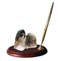 Shih Tzu Pen Holder (Tan)
