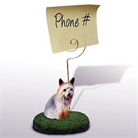 Silky Terrier  Note Holder