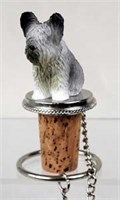Skye Terrier Bottle Stopper