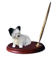 Skye Terrier Pen Holder