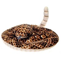Rattle Snake Plush Stuffed Animal 73""