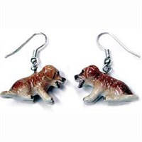 Springer Spaniel Earrings True to Life