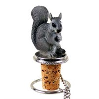 Squirrel Bottle Stopper