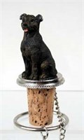 Staffordshire Bull Terrier Bottle Stopper
