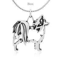 Papillon Body Necklace Sterling Silver