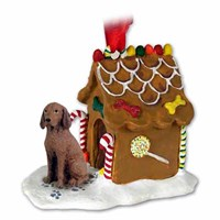 Vizsla Gingerbread House Christmas Ornament