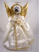 Westie Angel Christmas Tree Topper