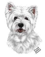 Westie T Shirt - Proud Parent