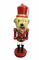 Wheaten Terrier Ornament Nutcracker