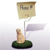 Wheaten Terrier Note Holder