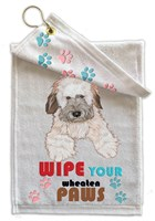 Wheaten Terrier Paw Wipe Towel
