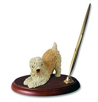 Wheaten Terrier Pen Holder