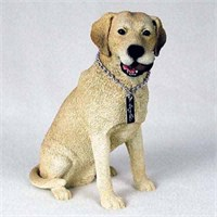 Yellow Lab Figurine My Dog