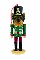 Yorkie Christmas Ornament Nutcracker