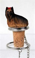 Yorkshire Terrier Bottle Stopper