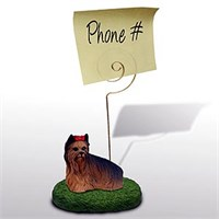 Yorkshire Terrier Note Holder
