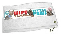 Yorkshire Terrier Paw Wipe Towel