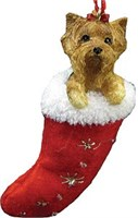 Yorkie Christmas Ornament Stocking