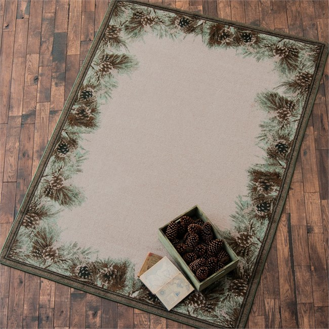 Pins and Needles Rug from Black Forest Decor!