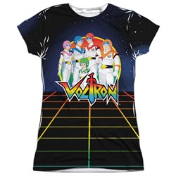 Voltron Team Voltron Sublimation Juniors Shirt